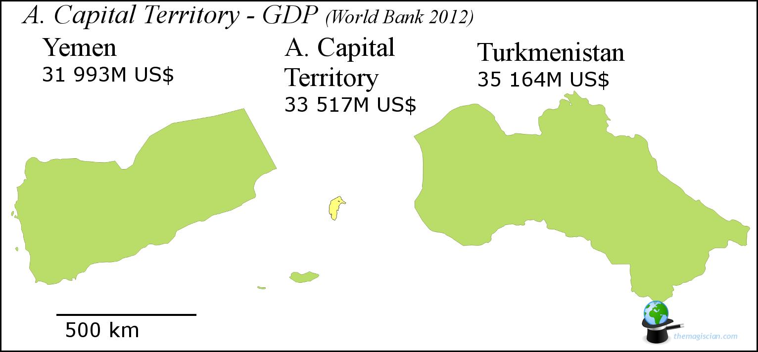 Australian Capital Territory - GDP