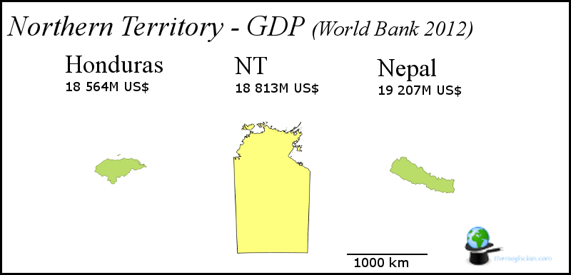 Northern Territory - GDP