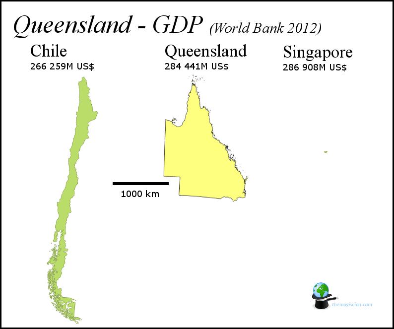 Queensland - GDP