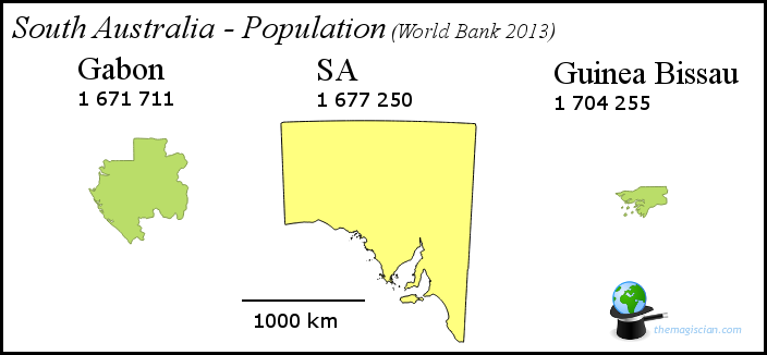 South Australia - Population
