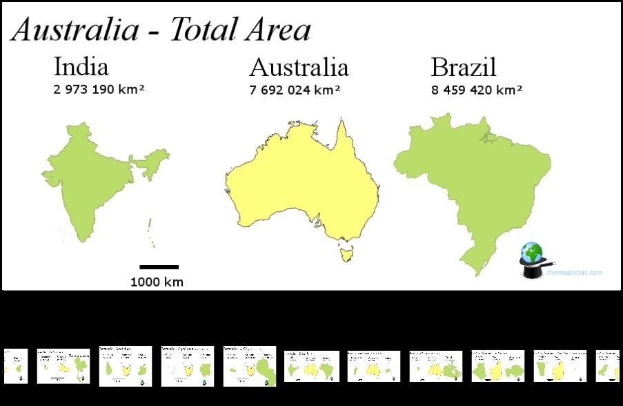 Australia Map Theater