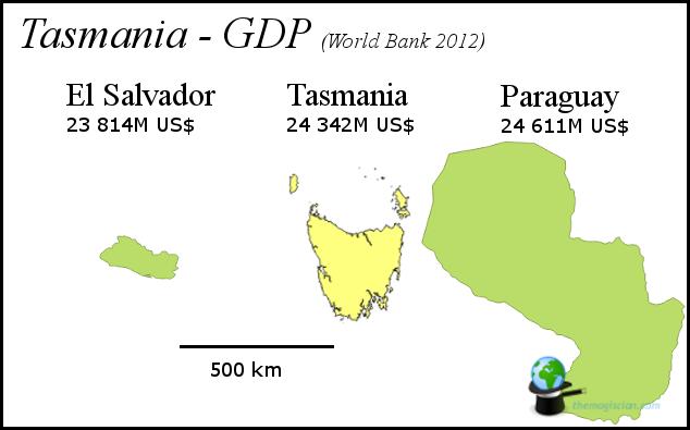 Tasmania - GDP