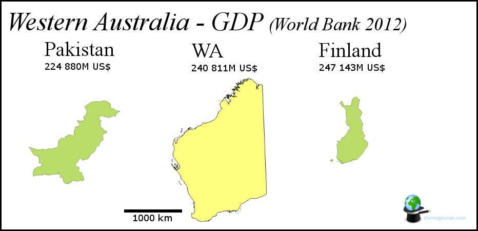 Western Australia - GDP
