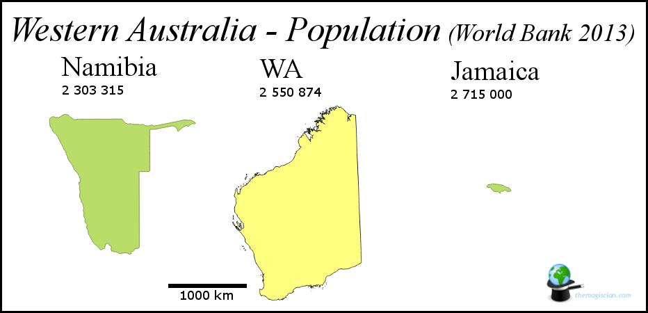 Western Australia - Population