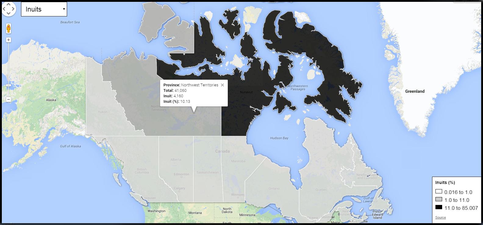 Canada - Inuit Population