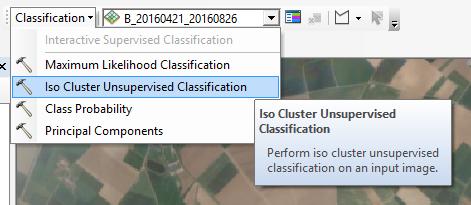 Spatial Analyst toolbar
