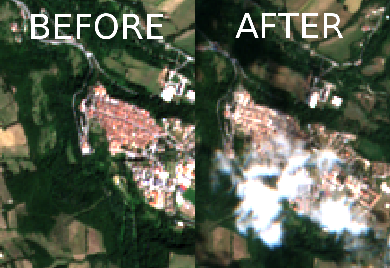 Amatrice, Italy: Before vs After